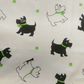 Scottie Dogs 100% Cotton