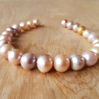 Multi-Colour Freshwater Cultured Pearl Nuggets