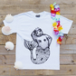 Brian Queen of the Sea, Bear Mermaid T-Shirt - Cool tee - Bear T-Shirt - Mermaid