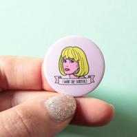 Pretty Woman 90s Movie Badge - Pink Movie Quote Badge