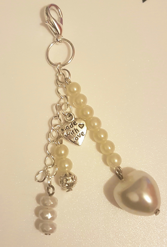 Made With Love Bag Charm