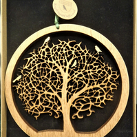 Tree of Life - Compact Wooden hanging