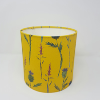 Thistle  and Hebe Print Lampshade