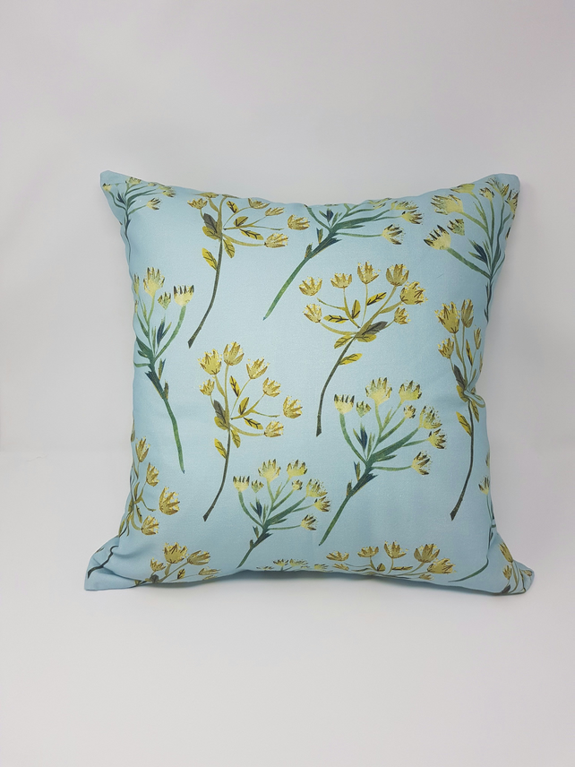 Cow Parsley Print Cushion cover