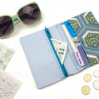 Travel Organiser In Exclusive Punto Belle Fabric 'Eco'