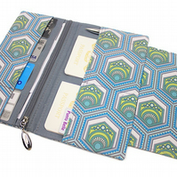Family Travel Organiser In Exclusive Punto Belle Fabric 'Eco'
