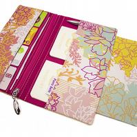 Family Travel Organiser In Exclusive Punto Belle Fabric 'Ice Cream'