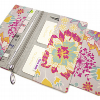Family Travel Organiser In Exclusive Punto Belle Fabric 'Sunshine'