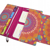 Family Travel Organiser In Exclusive Punto Belle Fabric 'Harmony''