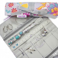 Ultimate Jewellery Roll In Exclusive Punto Belle Fabric 'Sunshine'