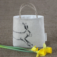 Gift bag, hare, rabbit design