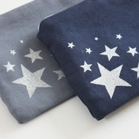 Gift set, pair of make-up bags, star design
