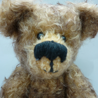 Skew Whiff: collectable mohair bear