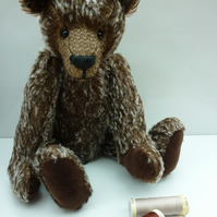 Cocoa: collectable mohair bear