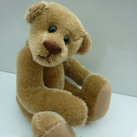 Little Spike: collectable mohair bear