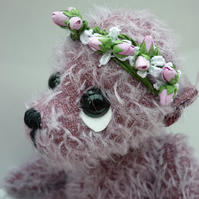 Blackberry Dream: collectable mohair bear