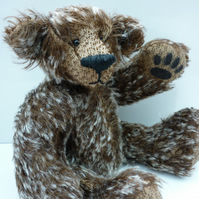High Five: collectable mohair bear