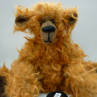 Fizz: collectable mohair bear