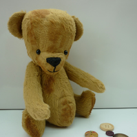 Lil' Buddy: handmade, collectable teddy bear