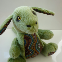 Merlin: collectable mohair critter