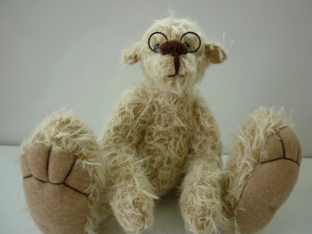Papa Bear: collectable mohair bear