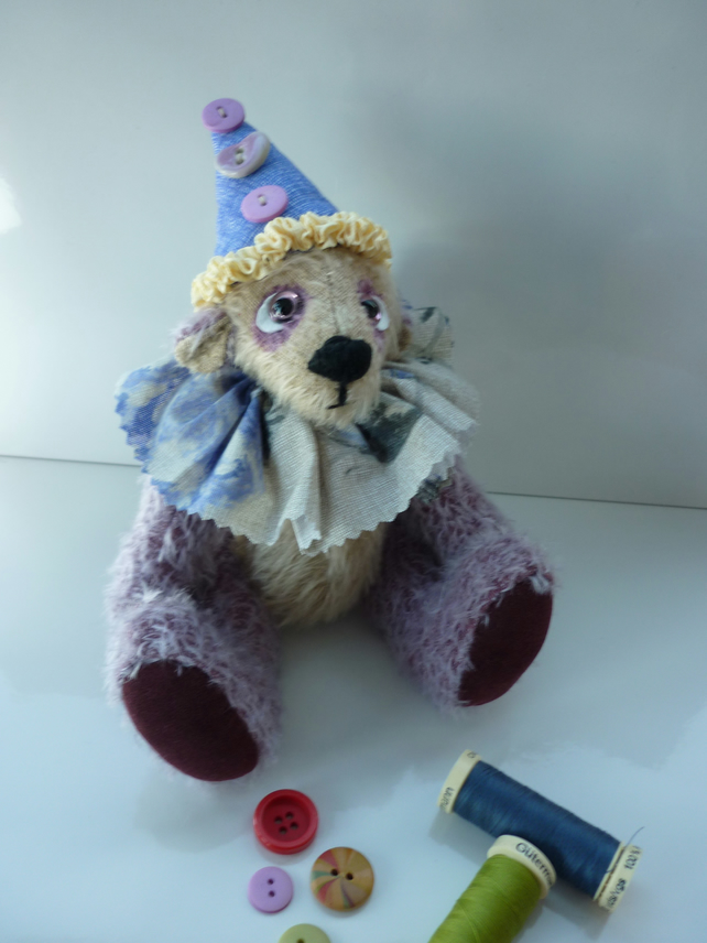 Blackberry Sorbet: collectable mohair bear