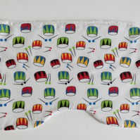 Boys Burp cloth, drum design, baby burp cloth, baby accessories, nursery