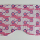 Baby burp cloth, pink lion design burp cloth, baby accessories, nursery