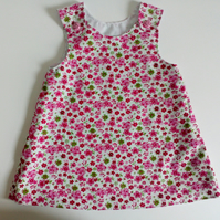 Needlecord A line dress, pinafore, dress, 12-18 months, 18-24 months