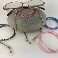 Glasses Chain Twisted Eye Glasses Cord Choice of Colour and Length
