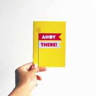 Ahoy There! Notebook
