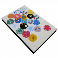 Vintage Buttons Notepad