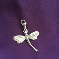 Sterling Silver Dragonfly Charm - 100CCA