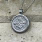 Lucky Sixpence Pendant