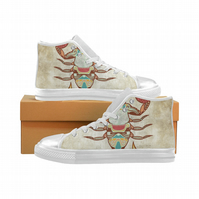 Horoscope Ladies High Top Trainers