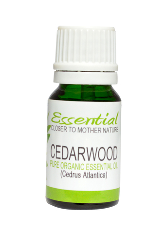 Organic Cedarwood Virginian Essential Oil-100% Pure & Natural 10 ml-Aromatherapy