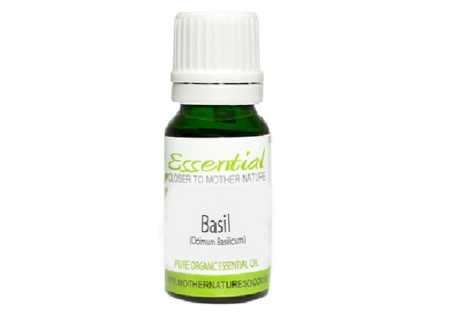 Basil Essential Oil (Organic) Pure by Mother Nature's Goodies
