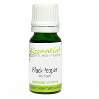 Black Pepper Essential Oil (Organic) Pure by Mother Nature's Goodies