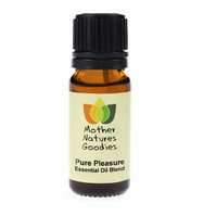 Pure Pleasure  Essential Oil Blend ( For Her) Pure & Natural 10ml Aromatherapy