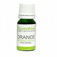 Sweet Orange Essential Oil (Organic) Pure by Mother Nature's Goodies