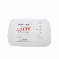 Clear Melt and Pour Soap Base SLS & SLES FREE