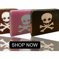 Kids Pirate Soap Bath Time Fun. Triple Pack