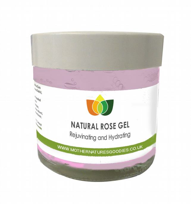 Rose Gel Rejuvenating Hydrating Aromatherapy 100 ml