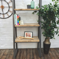 Reclaimed Trapeze Shelving Unit