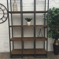 Reclaimed Tower Shelving Unit - Room Divider