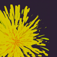 Dandelion Art Card MC14810