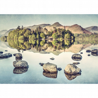 Catbells over Derwentwater, Keswick, Lake District, Cumbria fine art photography