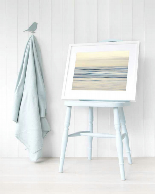 Abstract seascape wall art print - Coastal decor - Seaside print - Beach art