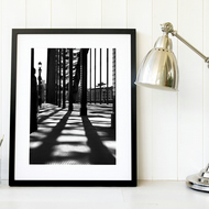 Newcastle Tyne Bridge black & white print, North East monochrome photography