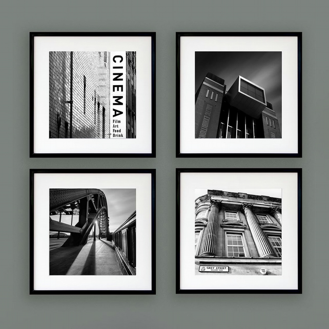 Newcastle print set - North East England gallery wall art - Fine art photography